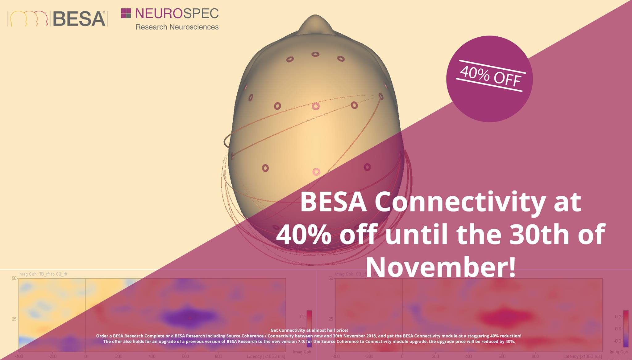 BESA Connectivity Sale - 40% off!
